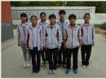 2014年春学段七年级(14)班受表彰的学生